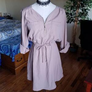 🌹3/$25🌹Rue 21 T-shirt dress cuff sleeves M